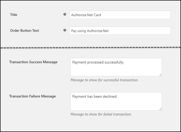 ELEX WooCommerce Authorize.Net Plugin | Handy Customization