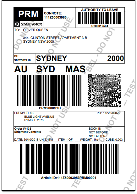 ELEX WooCommerce Australia Post Shipping | AusPost StarTrack Label