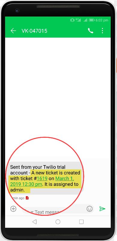 WSDesk - WordPress Helpdesk Plugin | Send SMS Notification