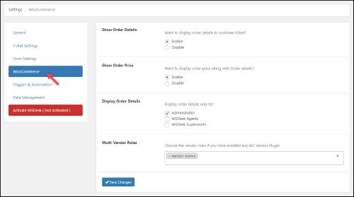 WSDesk - WordPress Helpdesk Plugin | WooCommerce Integration