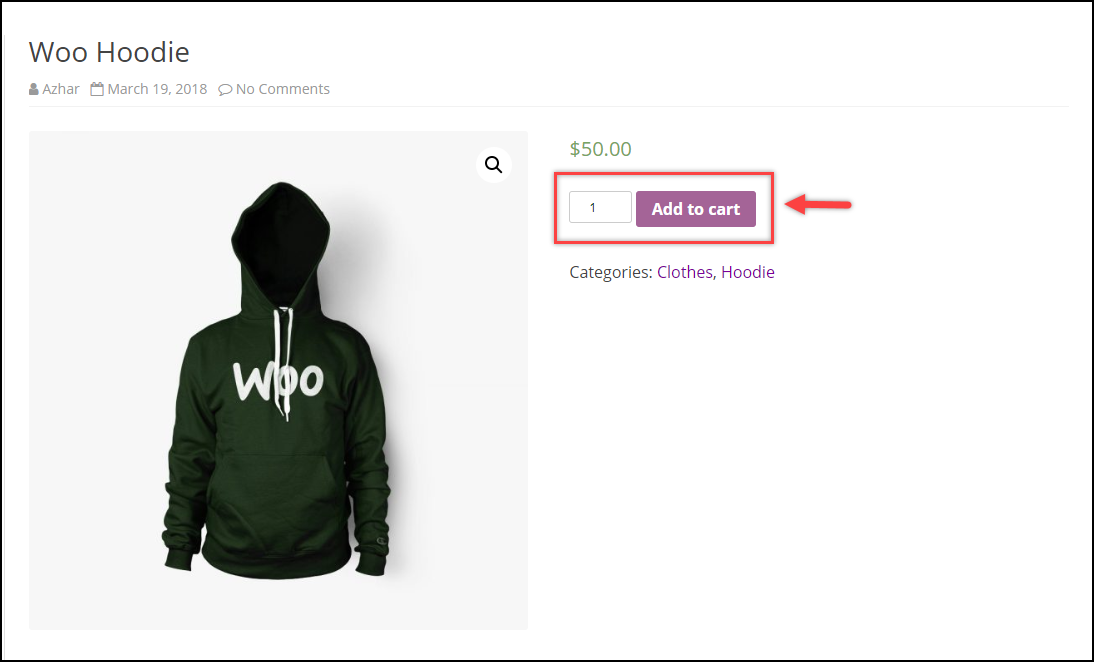 WooCommerce Remove Add to Cart   Default Add to Cart button setting