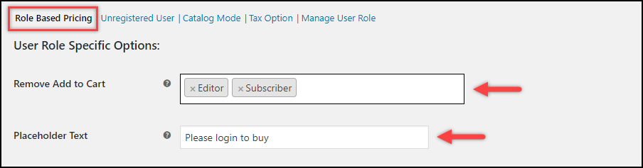 WooCommerce Remove Add to Cart   Remove Add to Cart button settings
