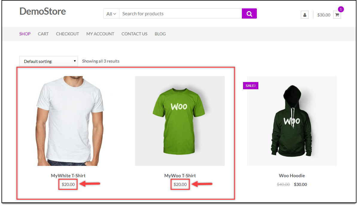 WooCommerce Bulk Edit Products | Regular Price Updated