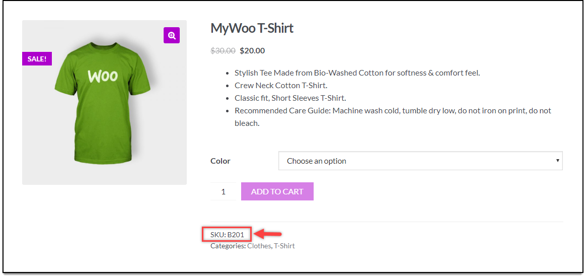 WooCommerce Bulk Edit Products | Product SKU updated