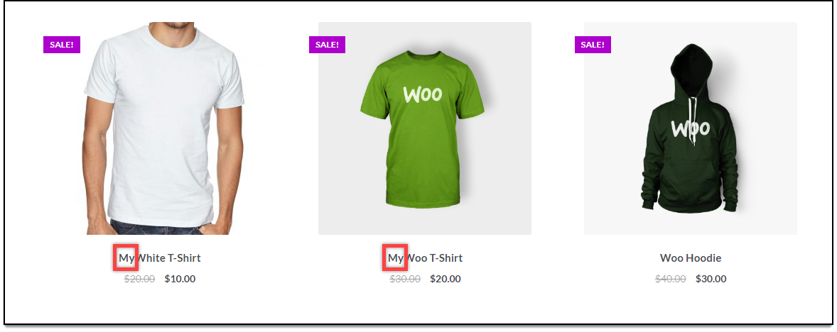 WooCommerce Bulk Edit Products | Product Title Updated