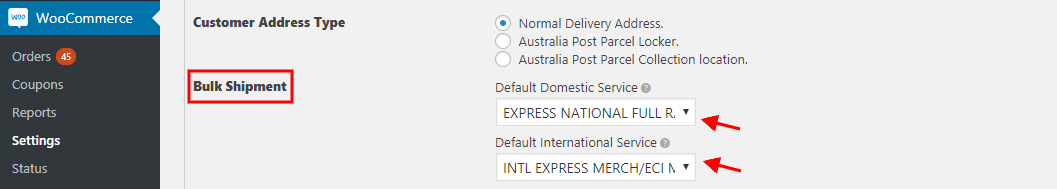 Creating Bulk Shipments with ELEX Australia Post Shipping