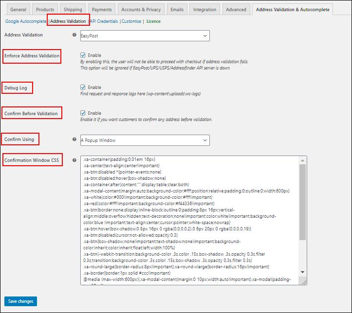 How to set up ELEX Address Validation & Google Address Autocomplete Plugin for WooCommerce? | Address Validation