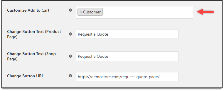 WooCommerce Role Based Pricing - Replace Add to Cart settings