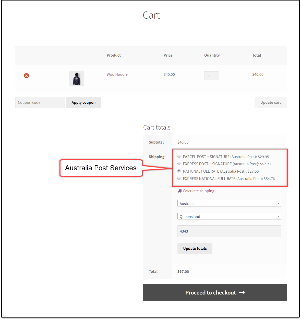 WooCommerce Australia Post Plugin | Australia Post Services