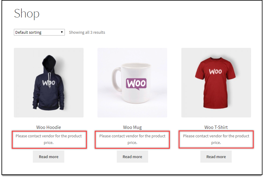 WooCommerce Role Based Pricing - Hide Product Prices