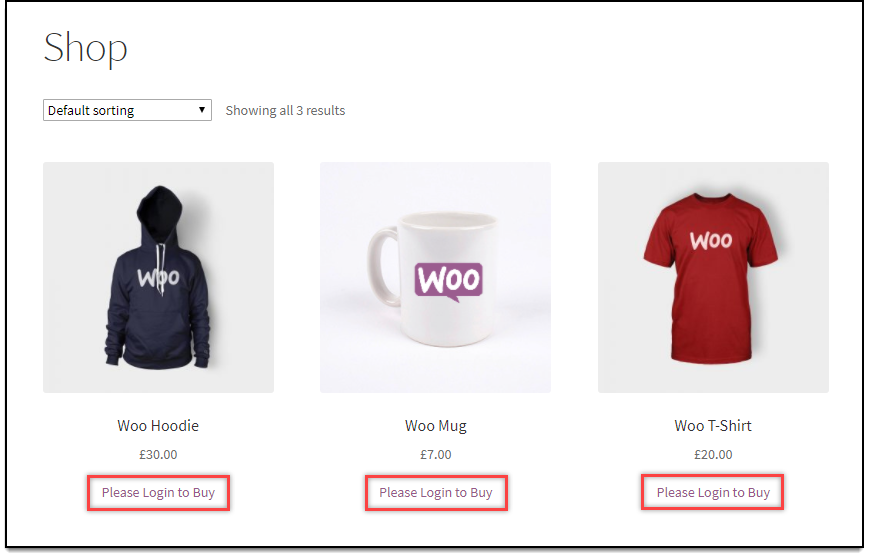 WooCommerce Role Based Pricing - Remove Add to Cart button