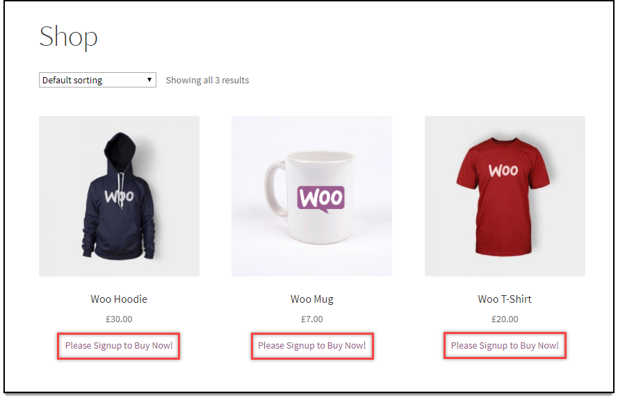 WooCommerce Role Based Pricing - Remove Add to Cart for Guests