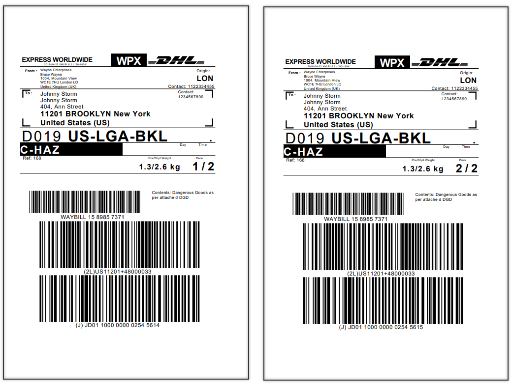 WooCommerce DHL Express | Shipping Labels