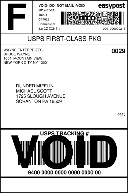 WooCommerce EasyPost Shipping | Domestic USPS Shipping Label