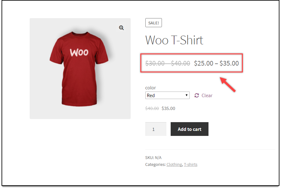 WooCommerce Catalog Mode | Strike out Variable price display