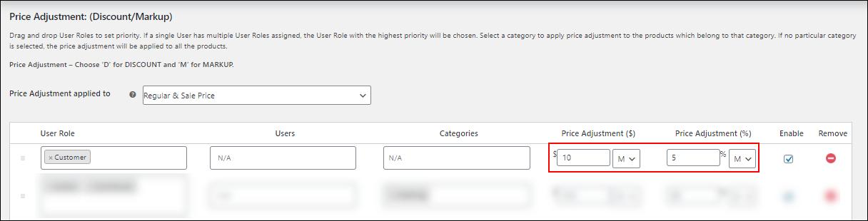 ELEX WooCommerce Catalog Mode, Wholesale & Role Based Pricing | The amount and Percentage adjustments