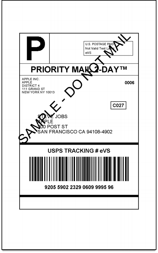 WooCommerce USPS Shipping | Domestic Shipping Label