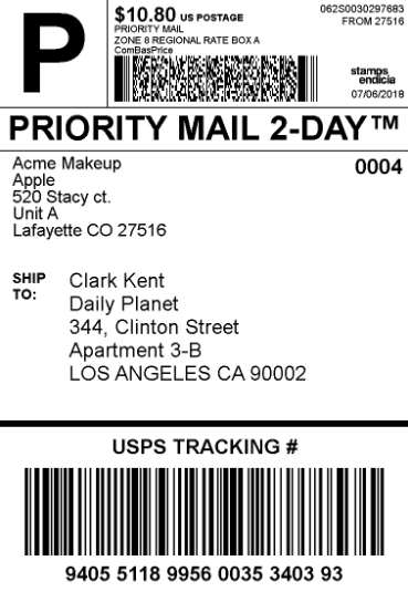 How to Show Free Shipping and Print Shipping Label with