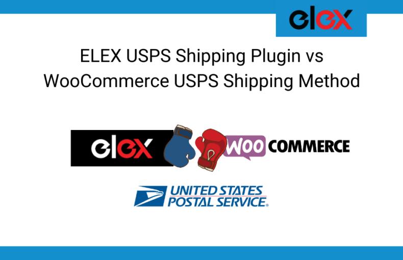 ELEX USPS Shipping Plugin vs WooCommerce USPS Shipping Method Banner