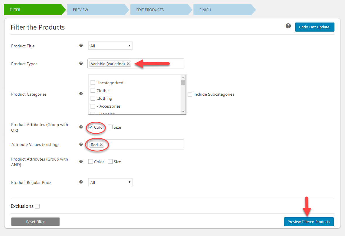 How to Bulk Edit Price for Multiple WooCommerce Variable