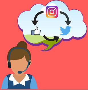 customer support through social media palatforms