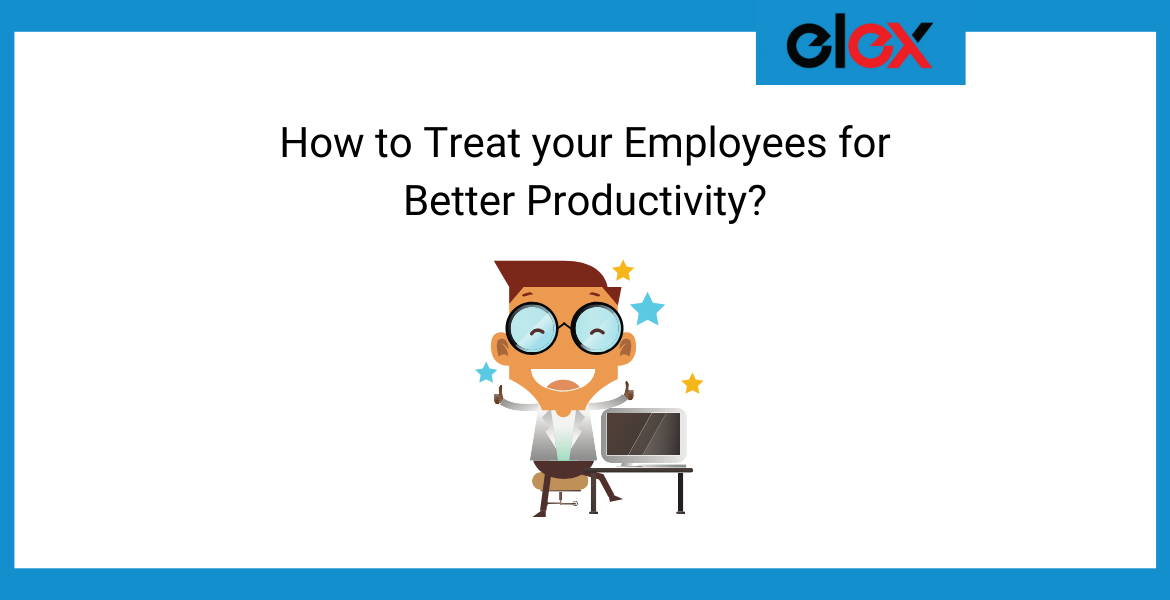 Treat Employees For Better Productivity Banner