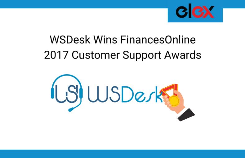WSDesk Wins FinancesOnline Banner