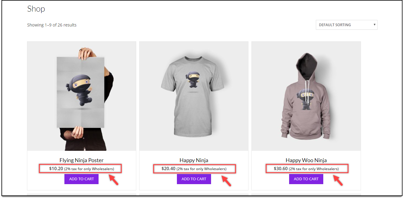 WooCommerce Product Price Suffix | Product Price Suffix for Wholesalers
