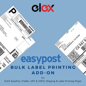 ELEX WooCommerce EasyPost Bulk Label Printing Add-On | Logo