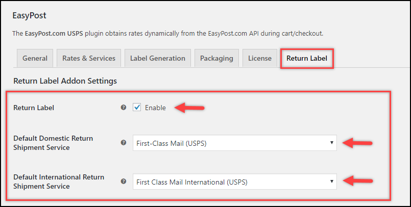 ELEX WooCommerce EasyPost Return Label Add-On | Enable Return Label Generation