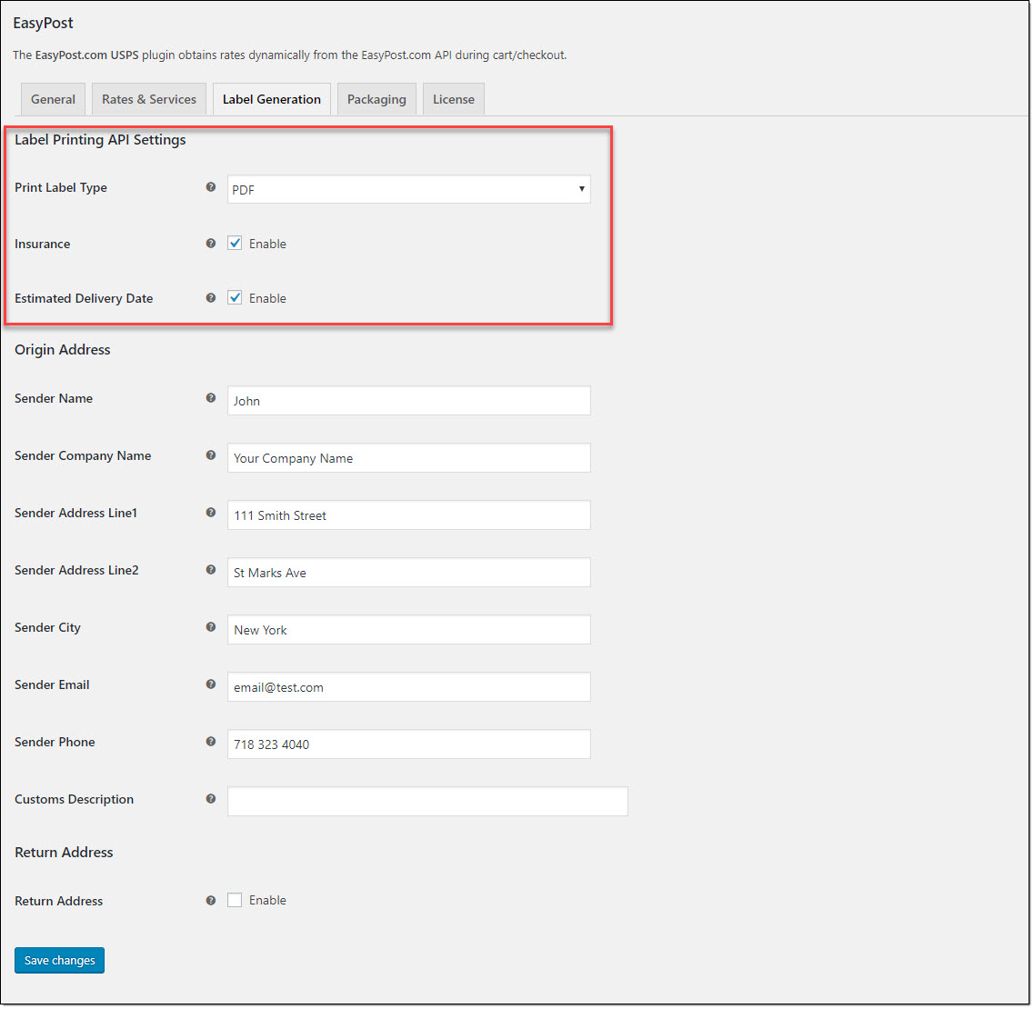 How to Print UPS Shipping Labels on your WooCommerce Store