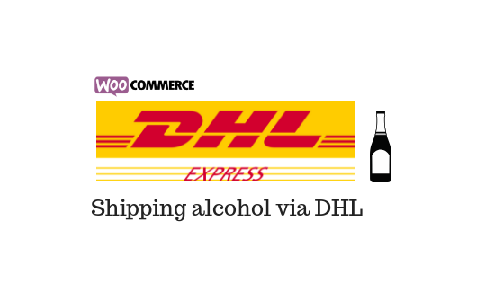 Ship alcohol products via DHL