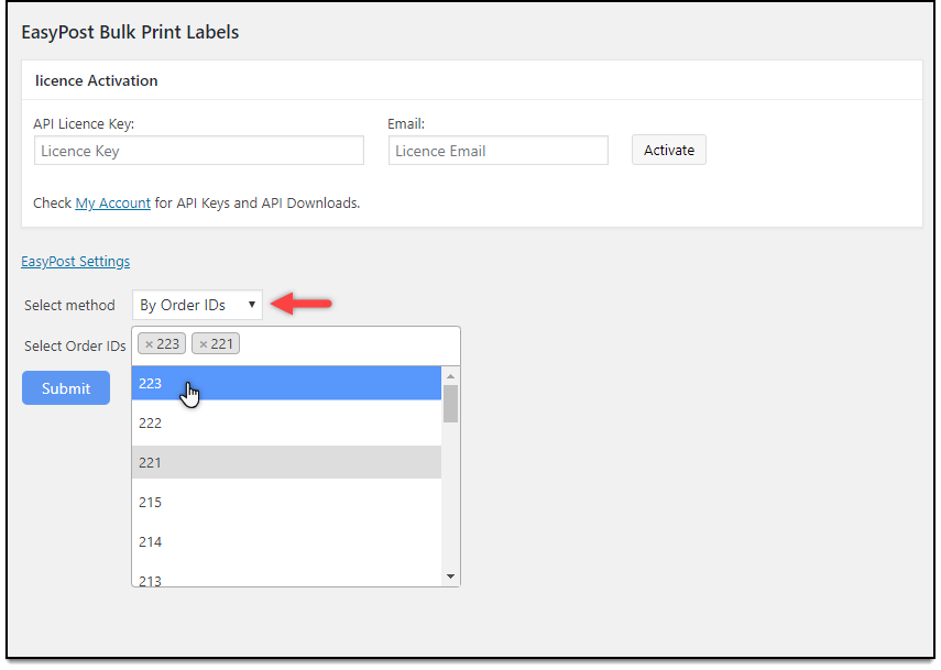 How to Bulk Print Shipping Labels as One Single PDF on your