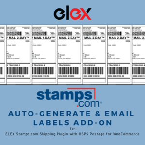 ELEX WooCommerce Stamps.com USPS Auto Generate Email Labels Add-On | Logo