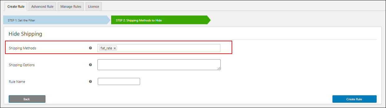 Hide WooCommerce Shipping Methods | Hiding Flat Rate Shipping Method