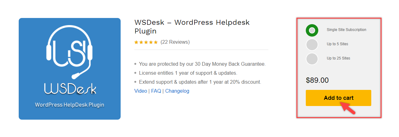 Integrating WordPress Knowledge Base Plugins | Purchase WSDesk