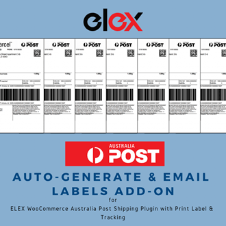 ELEX WooCommerce Australia Post Auto-Generate Email Add-On | Logo