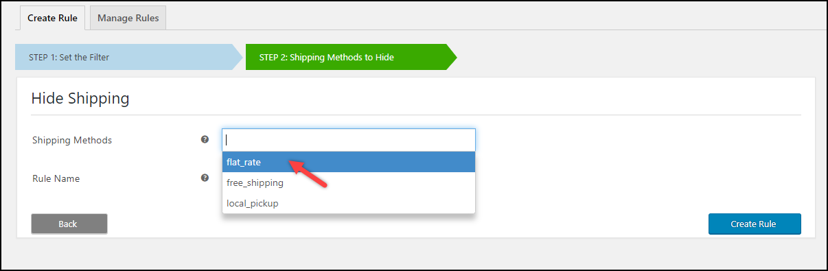 Free Hide WooCommerce Shipping Method Plugin | Default Shipping Methods