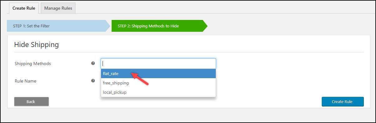 Free Hide WooCommerce Shipping Method Plugin   Default Shipping Methods