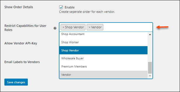 WooCommerce Multi-Vendor Support for ELEX Shipping Plugins | Restrict Vendor capabilities