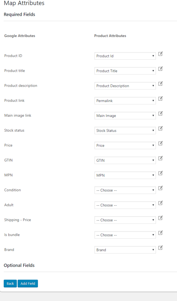 Product Categories | ELEX WooCommerce Google Product Feed Plugin