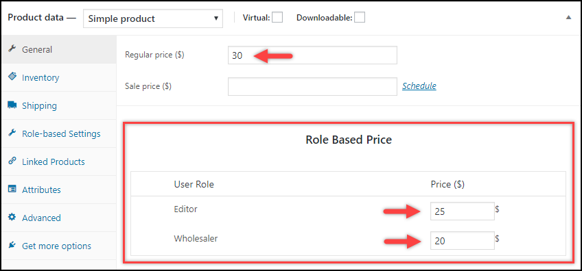ELEX WooCommerce Role-Based Pricing Plugin | Role-Based Product Prices