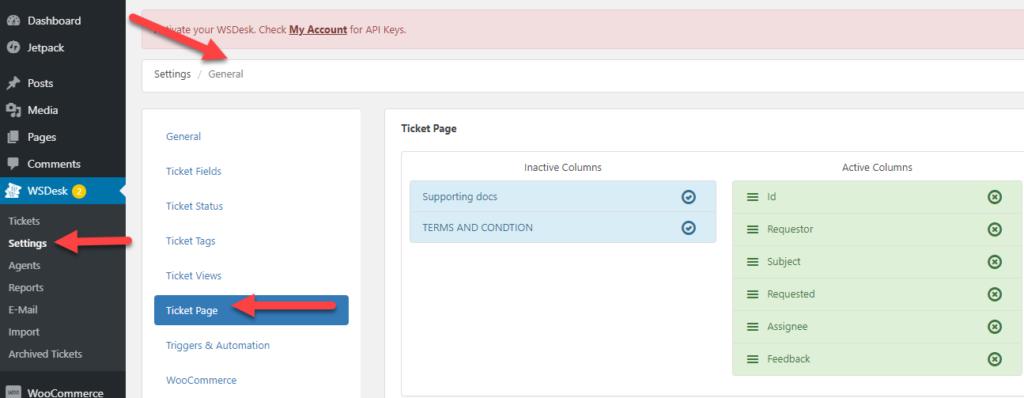 Easy Ticket Creation | WSDesk Free| WordPress Ticket Plugin