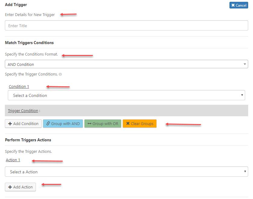 Add trigger | WSDesk | WordPress HelpDesk Plugin