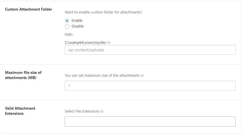 Ticket Attachment | WordPress helpdesk Plugin