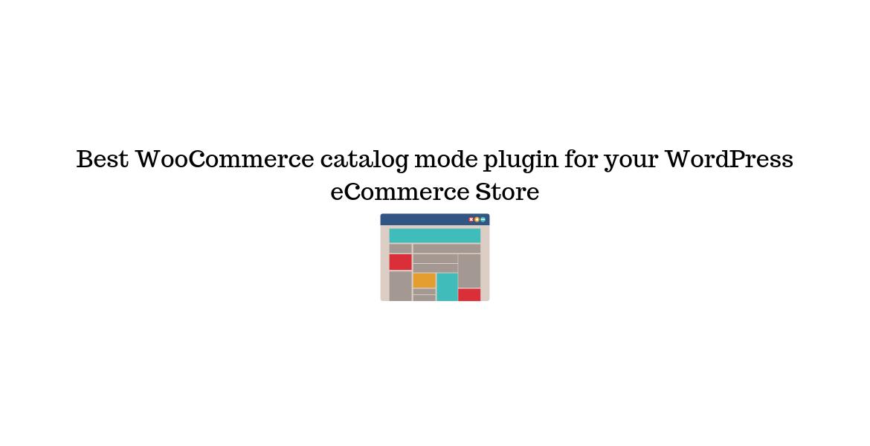 WooCommerce Catalog Mode Plugin