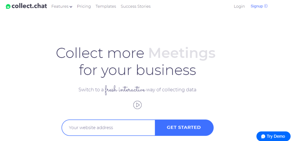 Collect.chat || Chatbots for WordPress