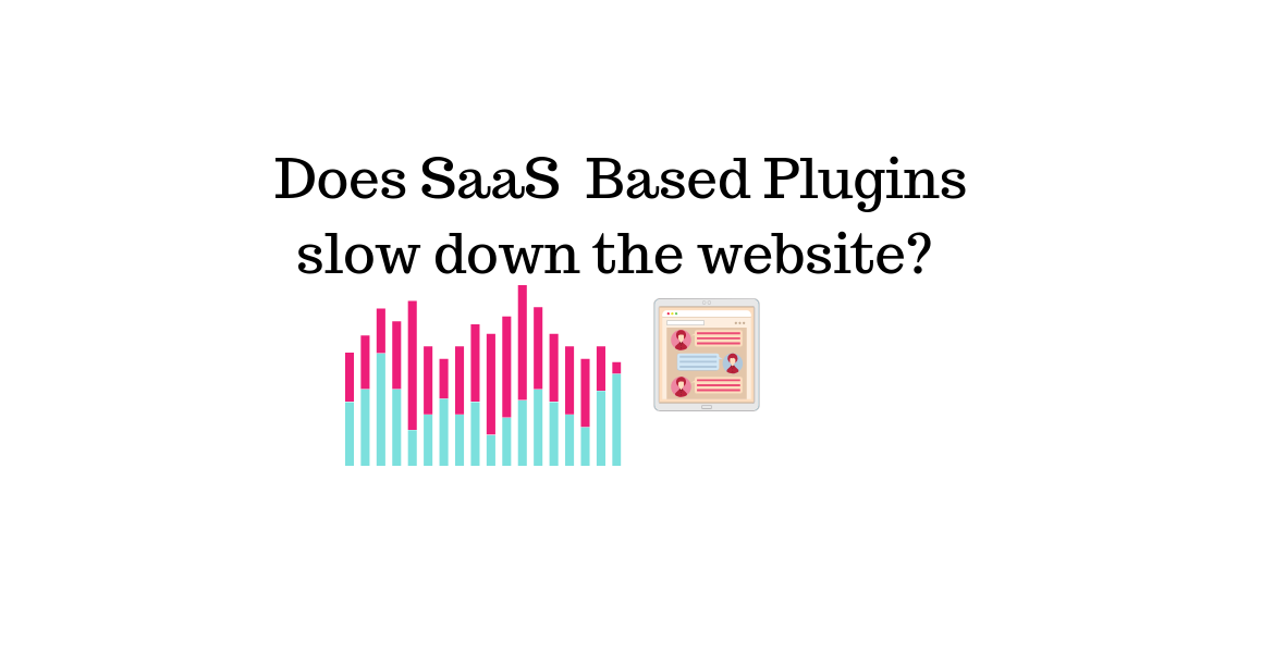 Does SaaS Based Plugins slow down the website || live chat plugin