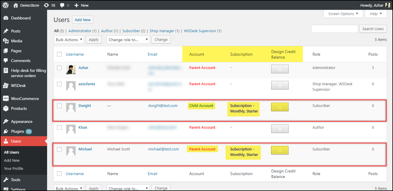 WSDesk Help Desk for Filling Service Orders | Updated WordPress Dashboard