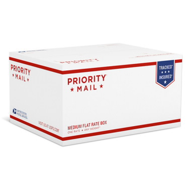 Priority mail medium flat rate box || USPS flat rate boxes